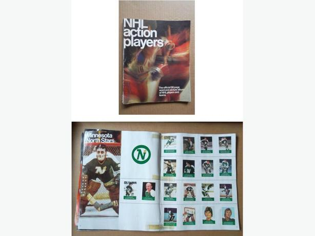 1974/75 Loblaws NHL Action Players sticker album