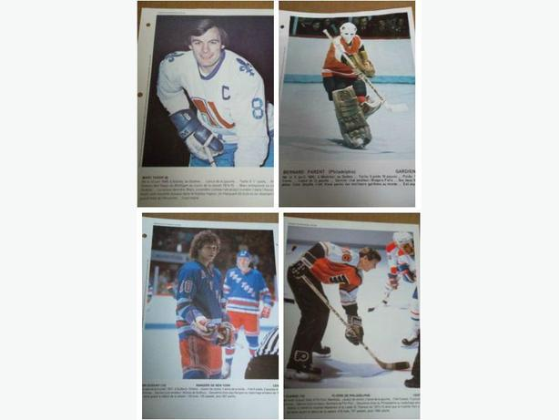 "Late 1970's - Early 1980's ""Derniere Heure"" hockey photos"