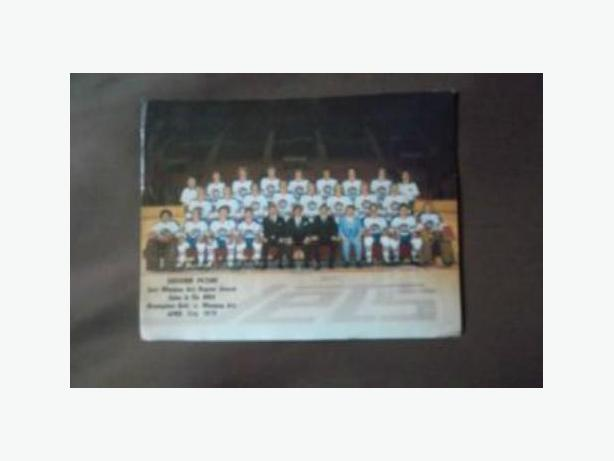 1979 Winnipeg Jets WHA team picture