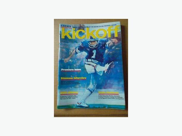 1983 United States Football League Inaugural Game Program