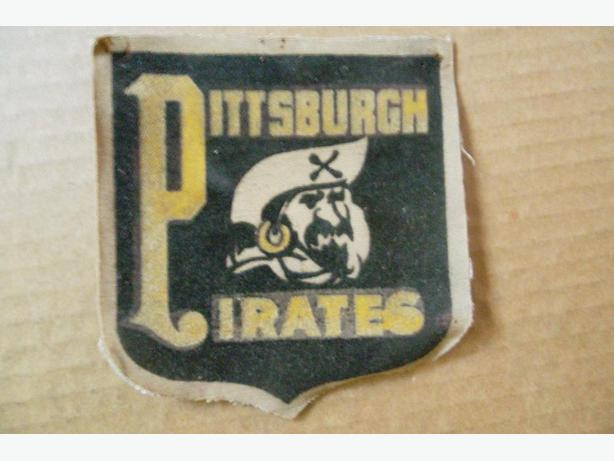 1940's-50's Pittsburgh Pirates patch