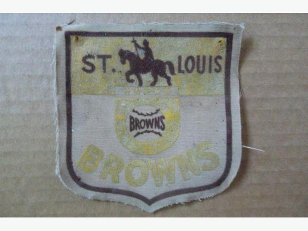 1940's-50's St. Louis Browns patch