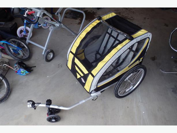 Bell Double Bike Trailer & Jogging Stroller Combo East Regina ...
