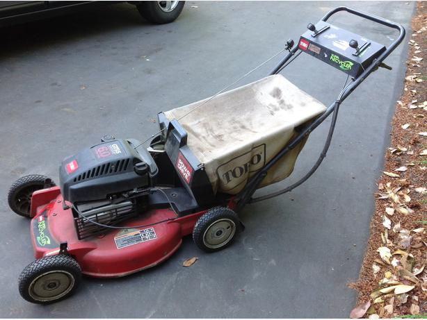 Toro Lawn Mower Gts5 6hp Self Propelled Super Recycler
