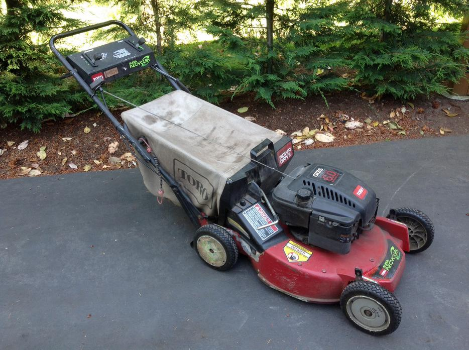Toro Lawn Mower Gts5 6hp Self Propelled Super Recycler