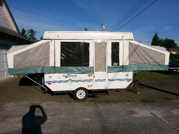 2001 Hard Top Rockwood Tent Trailer Other North Island