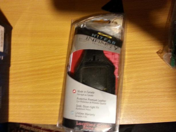 Genuine leather case Hitfar brand, motorola 1205