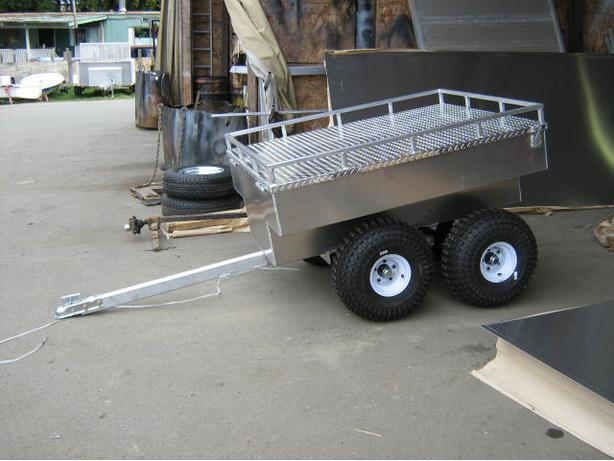 4X6 Aluminum ATV Trailer - 2 YEAR WARRANTY!