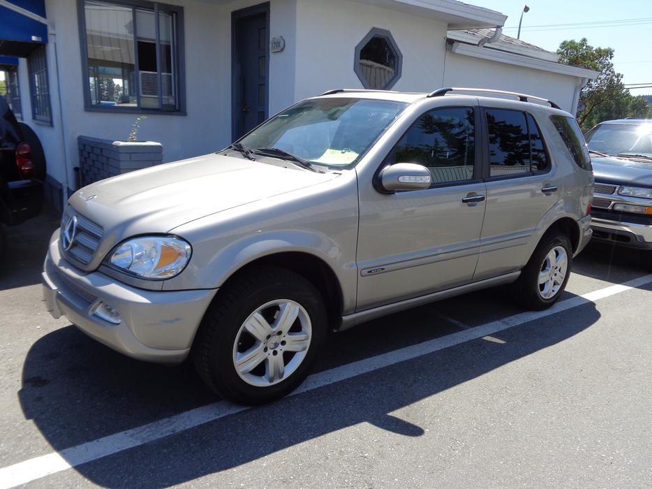 2005 mercedes benz ml350 4wd outside victoria victoria for 2005 mercedes benz ml350