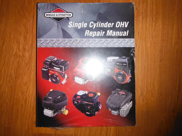 Briggs U0026 Stratton Single Cylinder Ohv Service Manual P N Manual Guide