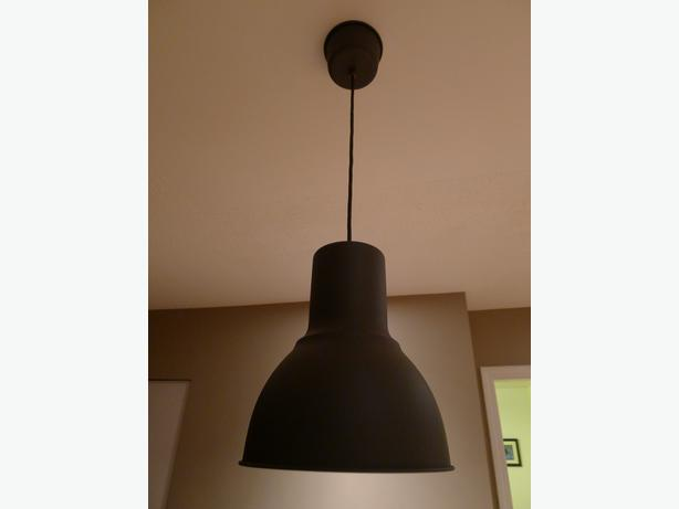 ikea hektar kitchen lamp brand new saanich victoria. Black Bedroom Furniture Sets. Home Design Ideas