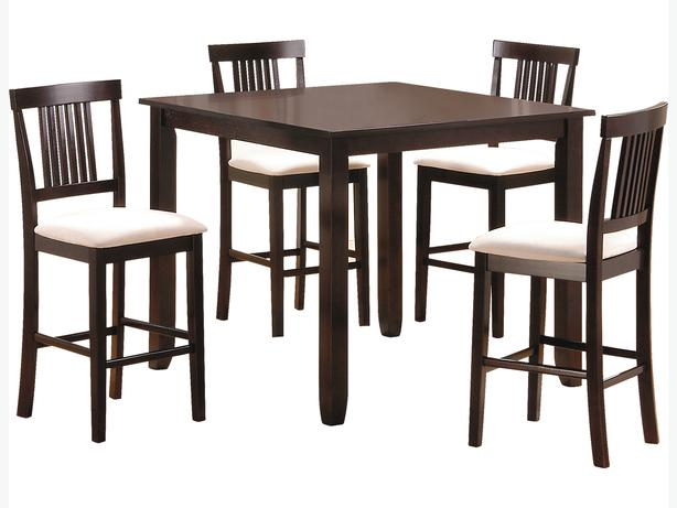 5 piece counter height dining table good condition for The brick kitchen tables