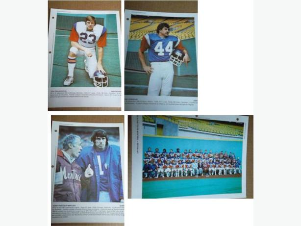 "1970's Montreal Alouettes ""Derniere Heure"" football photos - please contact"
