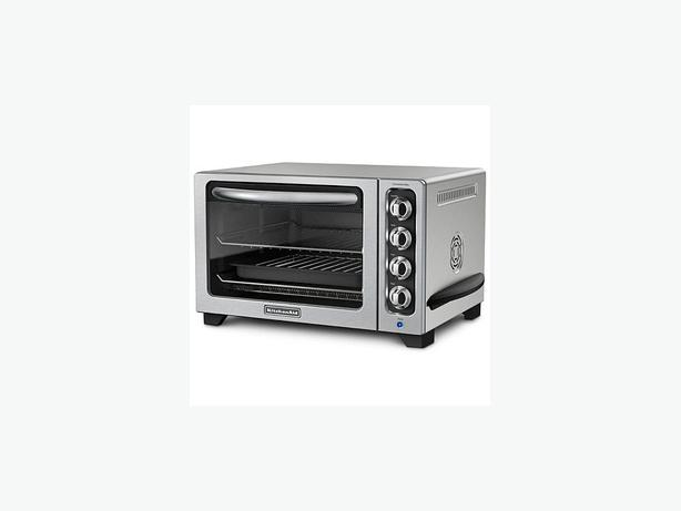 Kitchenaid Countertop Stove Parts : KitchenAid Stainless Steel Countertop Oven (Architect Series) Victoria ...