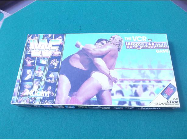 Wrestlemania The VCR Game