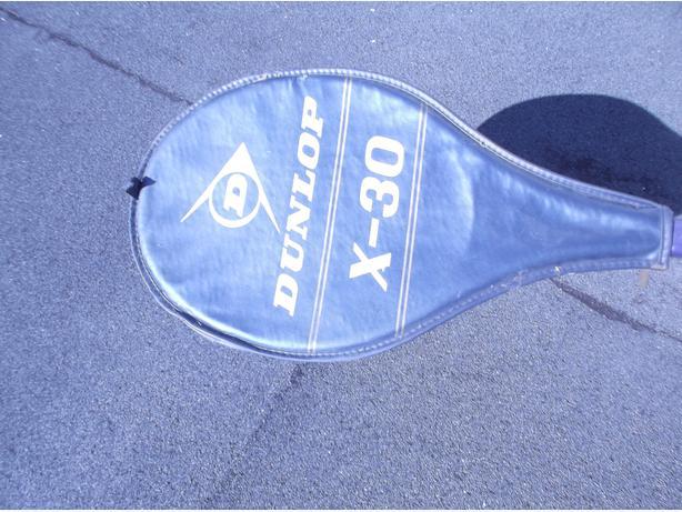 Dunlop X-30 racquet