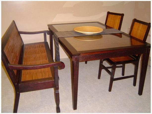 Beautiful Pier 1 Dining Table Seats Up To 6 People Is In Excellent