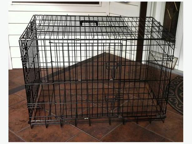 Large Wire Dog Crate Quot Unleashed Quot Campbell River Courtenay