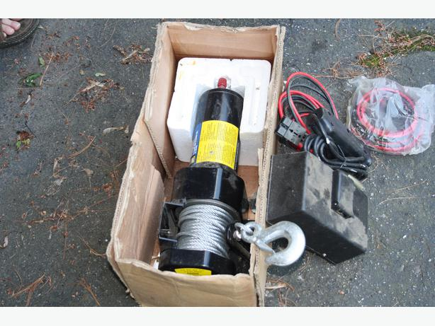 Electric Winch  Electric Winch Princess Auto