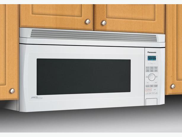 panasonic inverter genius microwave otr over the range 1100w - Panasonic Microwave Inverter