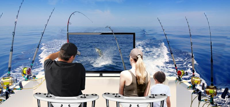 Sportfishin 39 simulator distributor opportunity kelowna for Deep sea fishing houston