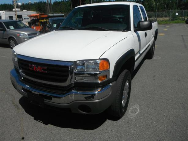 2005 gmc sierra 2500hd ext cab long box 2wd stk 24933 burnaby incl new westminster vancouver. Black Bedroom Furniture Sets. Home Design Ideas