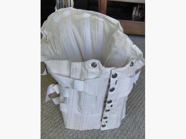 Mens lace up back support corset central nanaimo nanaimo