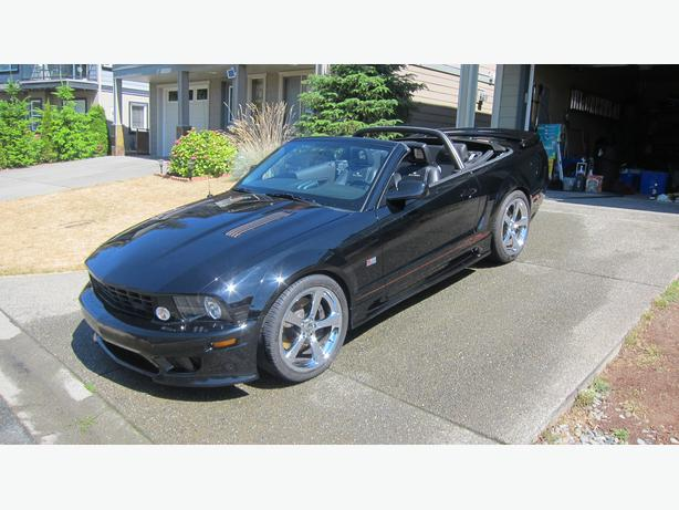 2008 ford mustang s281 saleen convertible supercharged west shore langford colwood metchosin. Black Bedroom Furniture Sets. Home Design Ideas