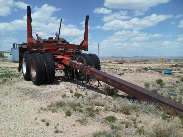 Dual Wheel Axles For Trailer : Wanted dual axle tandem wheels off logging trailer or semi