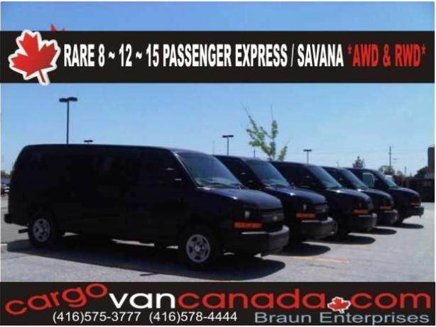 2OO9+ Express & FORD PASSENGER/CARGO from $11,OOO !