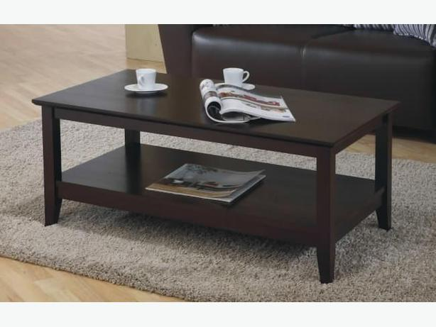 New Solid Wood Coffee Table - 10% Off