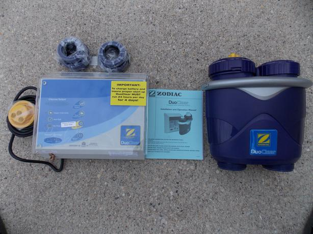 Swimming Pool Chlorination Systems : Swimming pool zodiac duoclear salt water chlorination