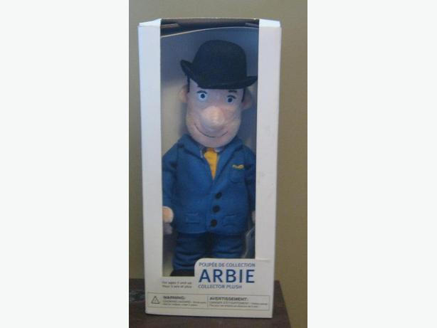 Collectible Royal Bank Mascot with Bowler Hat Plush Doll (Brand New In Box)
