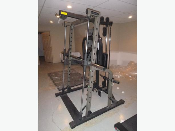 smith machine used