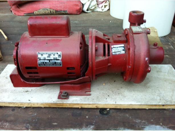 Bell gossett 1522 pump alternate current motor saanich for Bell gossett motors