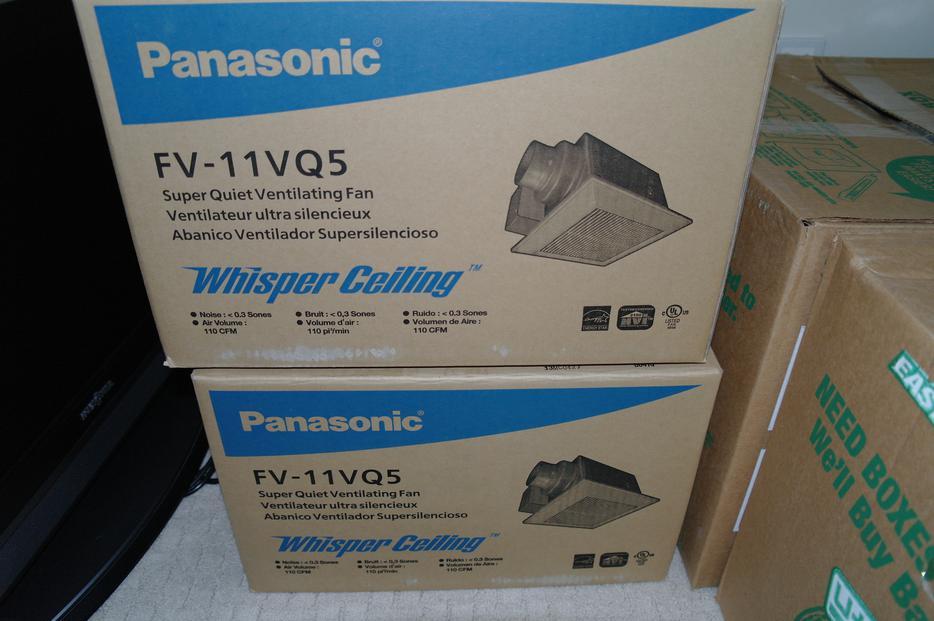 Panasonic FV-11VQ5 WhisperCeiling 110 CFM Ceiling Mounted Fan Victoria ...