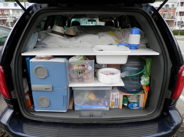 2004 Camper Van Dodge Grand Caravan Ready To Go