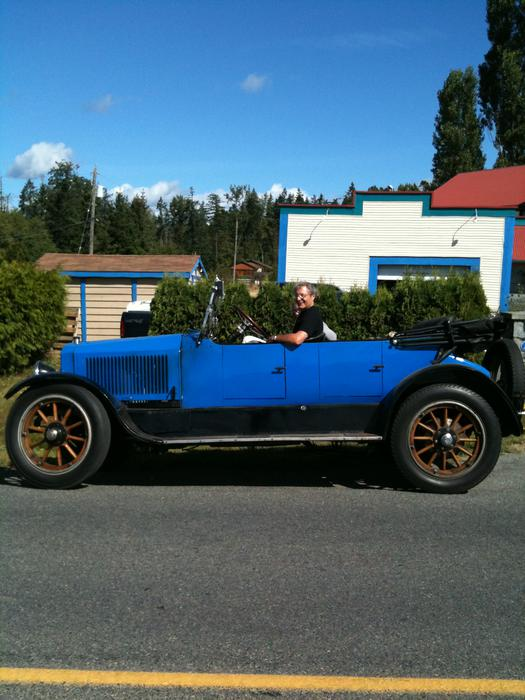 1919 Stanley Steam Automobile