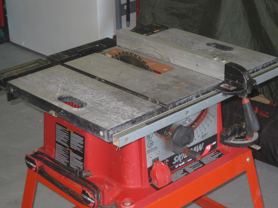 Skilsaw Table Saw North Nanaimo Parksville Qualicum Beach