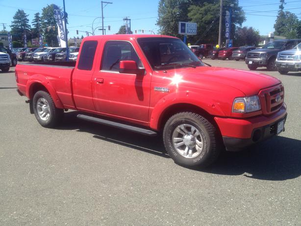 2011 ford ranger sport 4x4 campbell river campbell river. Black Bedroom Furniture Sets. Home Design Ideas