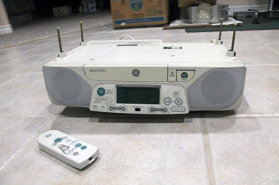 Ge Spacemaker Stereo Digital Am Fm Cd Player W Counter