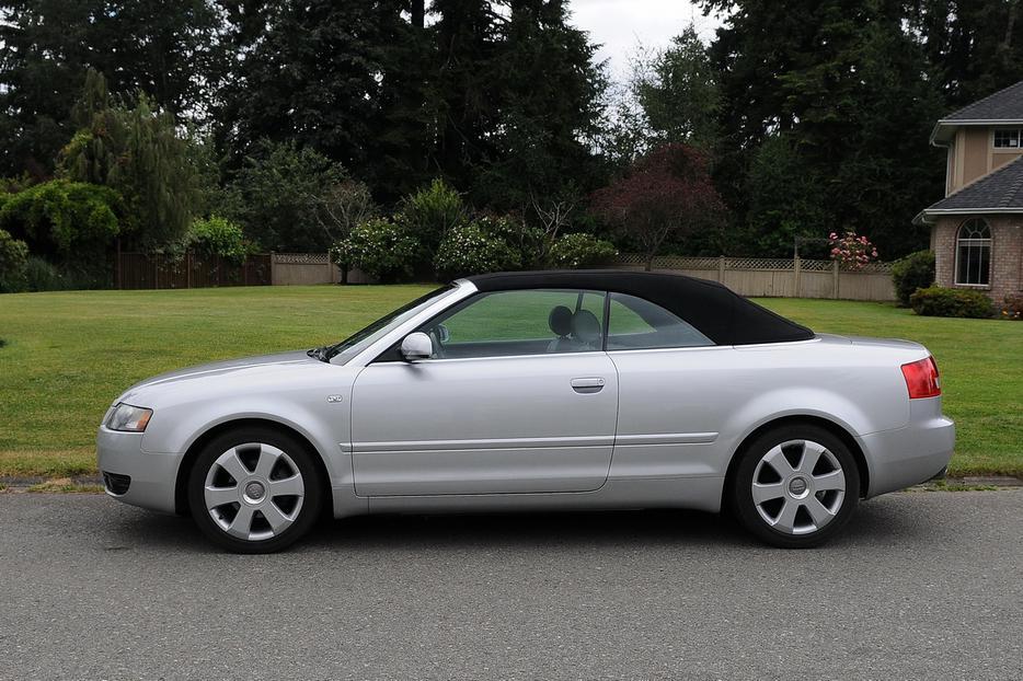 2005 Audi A4 Convertible Outside Victoria Victoria Mobile