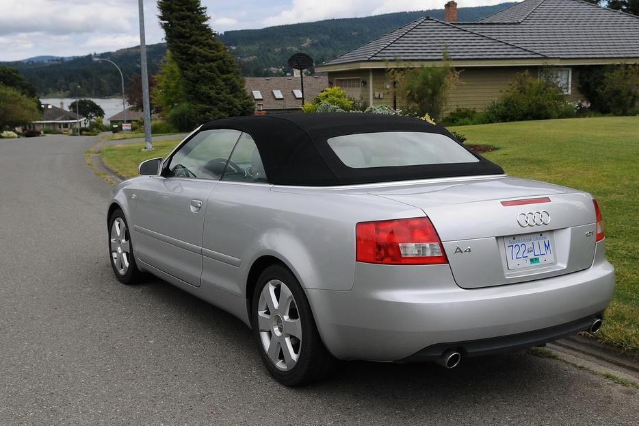 2005 Audi A4 Convertible Outside Victoria Victoria Mobile