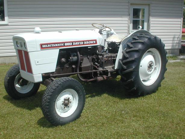Firestone Tires Near Me >> Nice David Brown 880 45 HP Diesel Tractor West Carleton