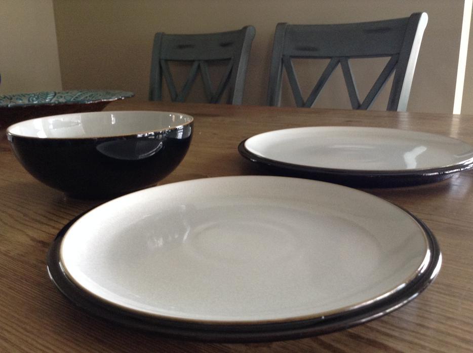 denby everyday dishes in black pepper new west shore. Black Bedroom Furniture Sets. Home Design Ideas