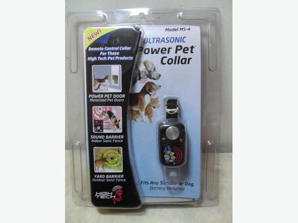 New Ultrasonic High Tech Pet Collar