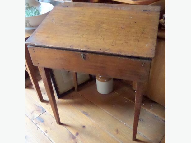 Antique Slant Top Desk - Antique Slant Top Desk Antique Furniture