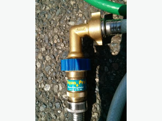 rv water pressure regulator 90 elbow and hose south nanaimo nanaimo. Black Bedroom Furniture Sets. Home Design Ideas