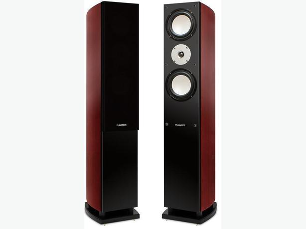 Two Fluance XL7F tower speakers