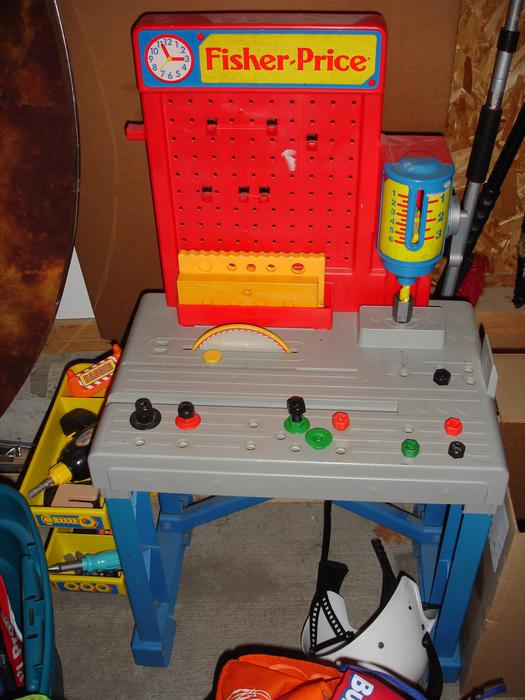 Fisher price tool bench comes with tools kanata ottawa Fisher price tool bench